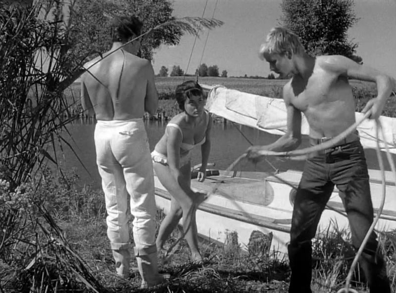 Нож в воде. 1962. Рейтинг фильма - 7,913; 840-е место в Золотой Тысяче.