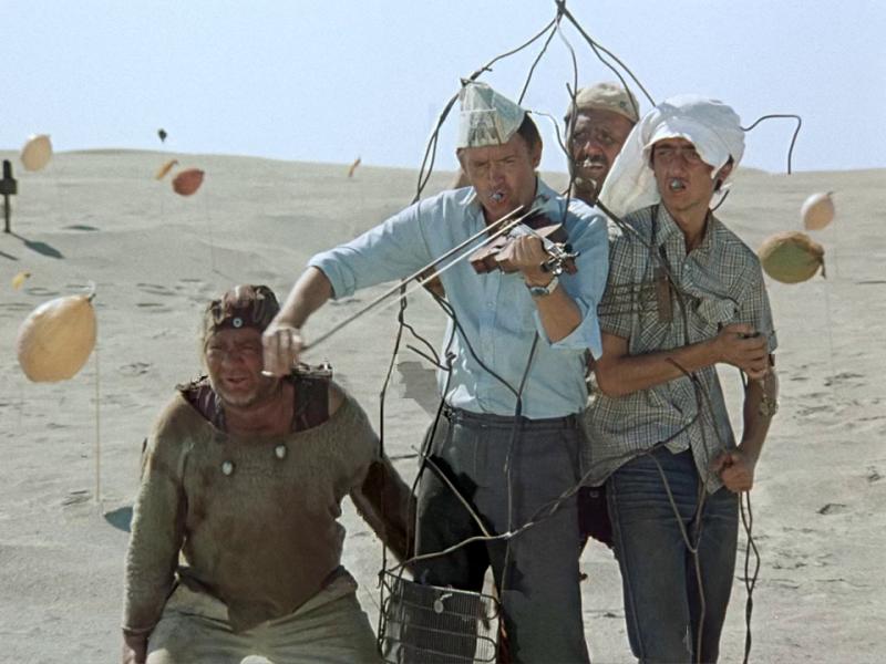 Кин-дза-дза!. 1986 год. Рейтинг фильма - 7,955. 778-е место в Золотой Тысяче.