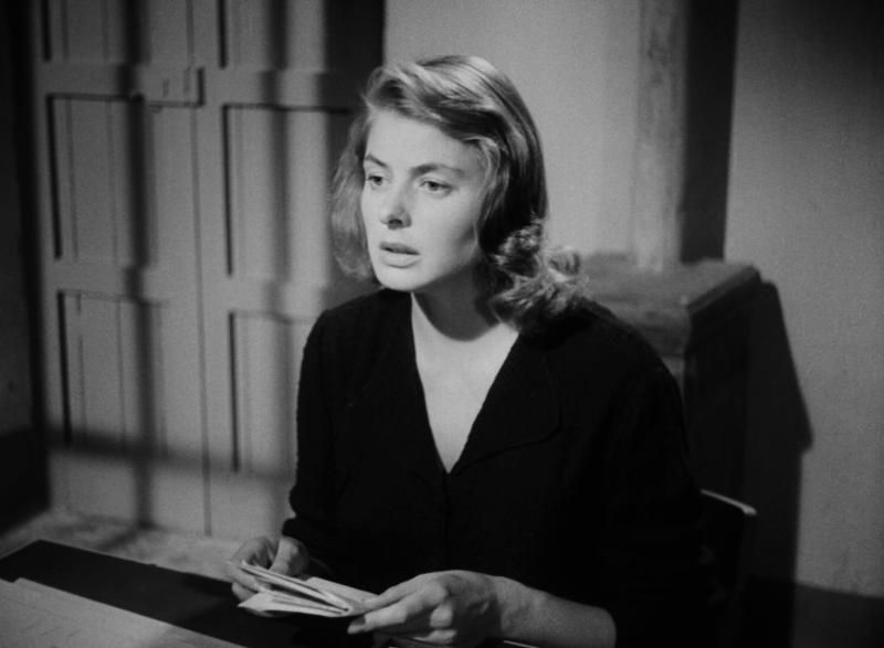Стромболи, земля Божья. Режиссёр Роберто Росселлини. Италия. 1950.