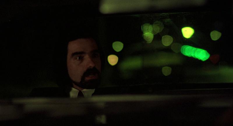 "Мартин Скорсезе в его фильме ""Таксист"", 1976 год."