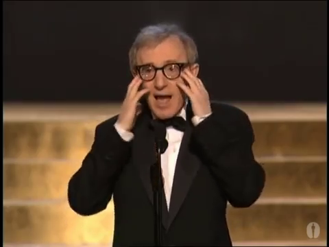 Вуди Аллен на церемонии Оскара, 2002 год