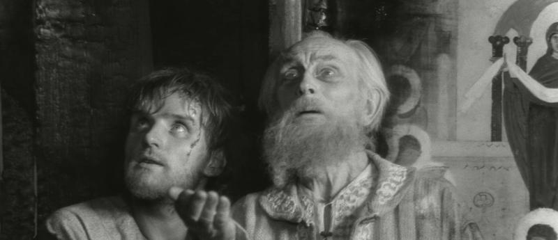 Андрей Рублев. 1966. Рейтинг фильма - 8,144; 533-е место в Золотой Тысяче.