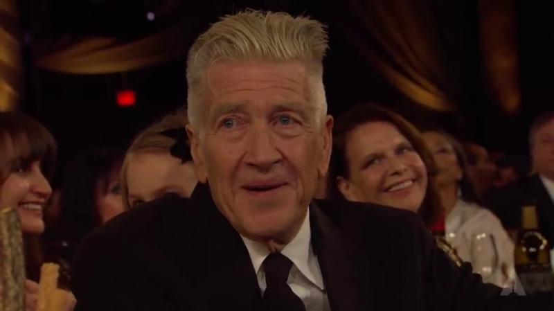 Дэвид Линч на церемонии вручения почётных Оскаров (Governors Awards), 27.10.2019