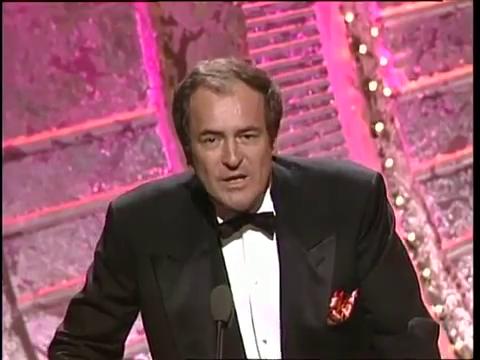 Бернардо Бертолуччи на церемонии вручения Оскара, 1988 год.