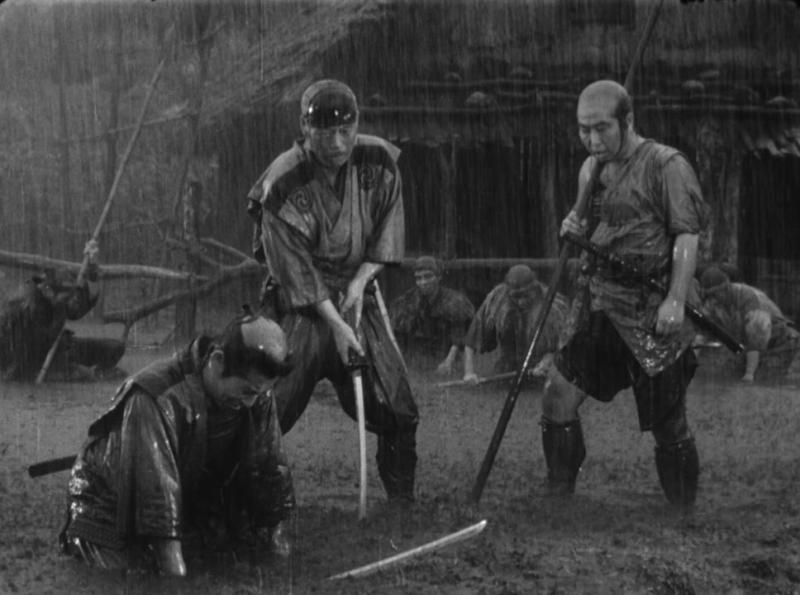 Семь самураев. 1954. Рейтинг фильма - 9,308. 102-е место в Золотой Тысяче.