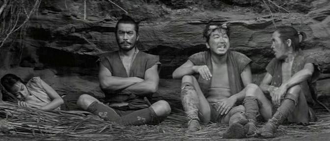 Три негодяя в скрытой крепости. 1958. Рейтинг фильма - 8,670. 260-е место в Золотой Тысяче.