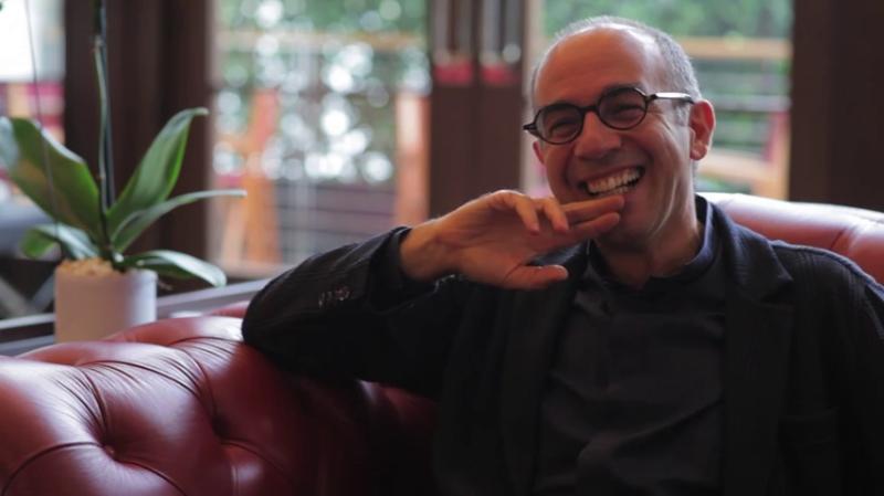 Джузеппе Торнаторе во время интервью. Ноябрь 2014 года.