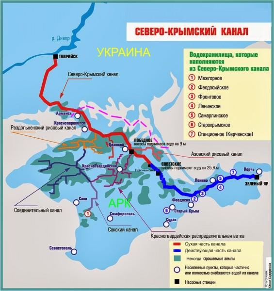 Северо-Крымского канала.
