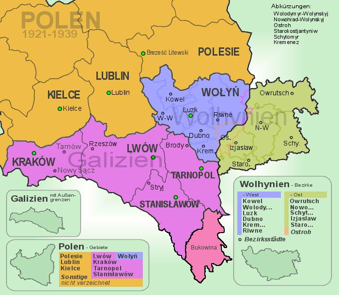 Polen_Galizien_Wolhynien