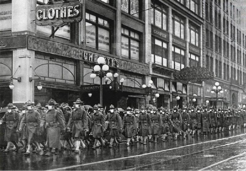Колонна солдат в Филадельфии