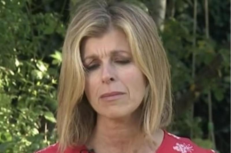 Телеведущая Кейт Гарравей со слезами на глазах описывает борьбу своего мужа с Ковидом