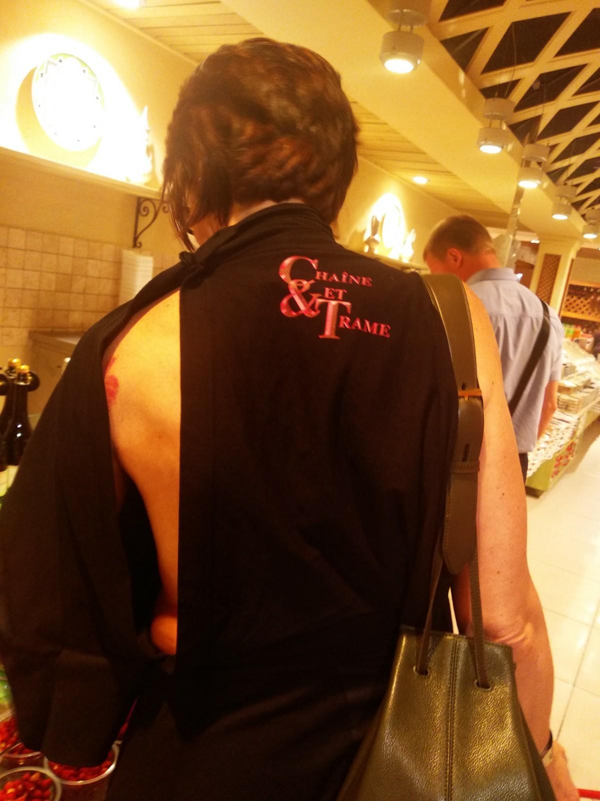 Новая мода в Новосибирске - открытая спина