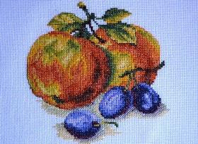 натюрморт яблоки_0453