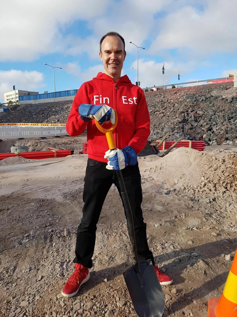Петер Вестербака уже несколько лет работает над проектом тоннеля между Хельсинки и Таллином. Фото: Finest Bay Area Development