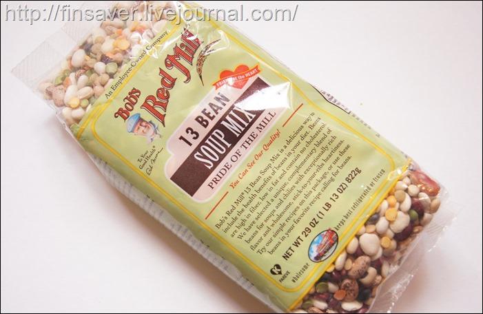 Bob's Red Mill, Смесь для супа из 13ти бобов, 822 г полезные натуральные продукты органика дешево органика шруки iherb.com отзывы купон на скидку в 10$ инструкция как сделать заказ акции скидки   косметика БАДы витамины