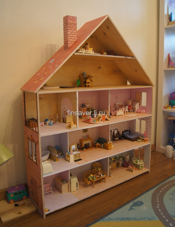 Кукольные домики из фанеры фото своими руками