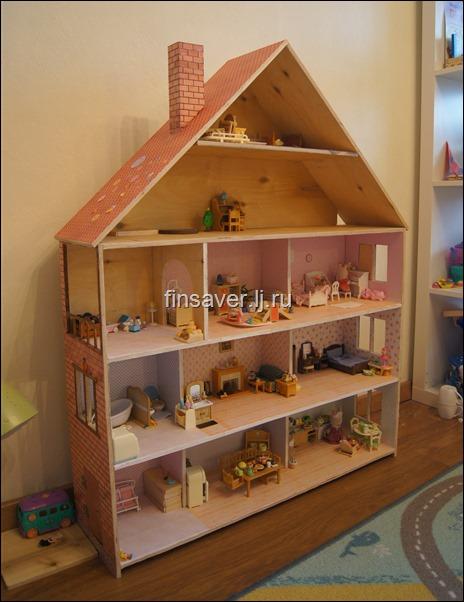 Фото кукольного домика своими руками