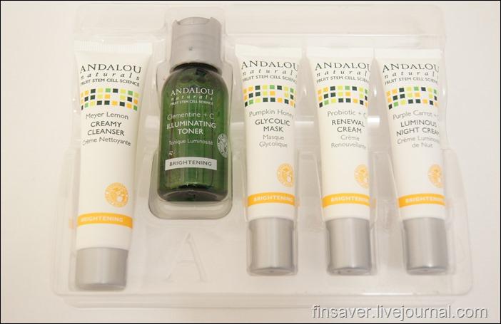 Andalou Naturals, Get Started Brightening, Skin Care Essentials, 5 Piece Kit, iherb.com, отзывы, шруки, код на скидку 10$