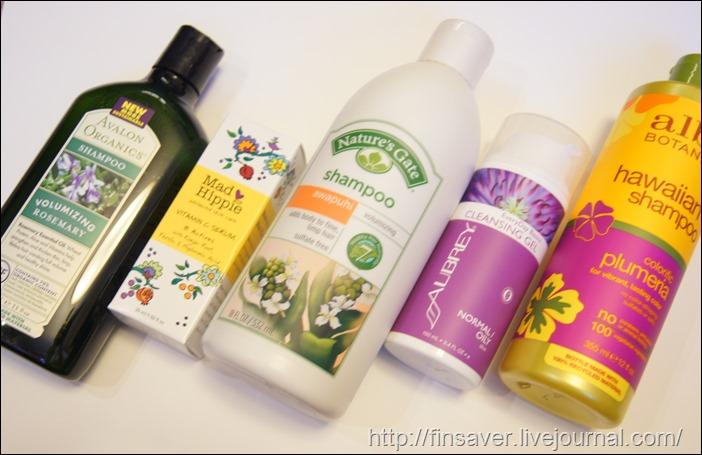 Avalon Organics, Shampoo, Volumizing, Rosemary, 11 fl oz (325 ml)Alba Botanica, Natural Hawaiian Shampoo, Colorific Plumeria, 12 fl oz (355ml)Natures Gate, Awapuhi Volumizing Shampoo, 18 fl oz (532 ml)Aubrey Organics, EveryDay Basics Cleansing Gel, Normal / Oily Skin, 3.4 fl oz (100 ml)шампунь для объема плюмерия розмарин гель для умывания сыворотка с витамином с mad hippie купон на скидку шруки iherb.com отзывы на косметику инструкция как сделать заказ фото