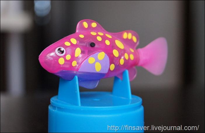 robofish роборыбка отзыв фото игрушки дешево купоны на скидку
