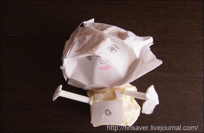 детская скульптура мамы из бумаги творческое воспитание занятия с детьми мастер-классы бесплатно дешево скидки
