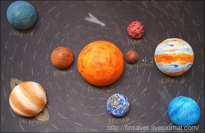 """набор для творчества """"Солнечная система"""" отзыв фото детское творчество занятия с детьми чем заняться"""