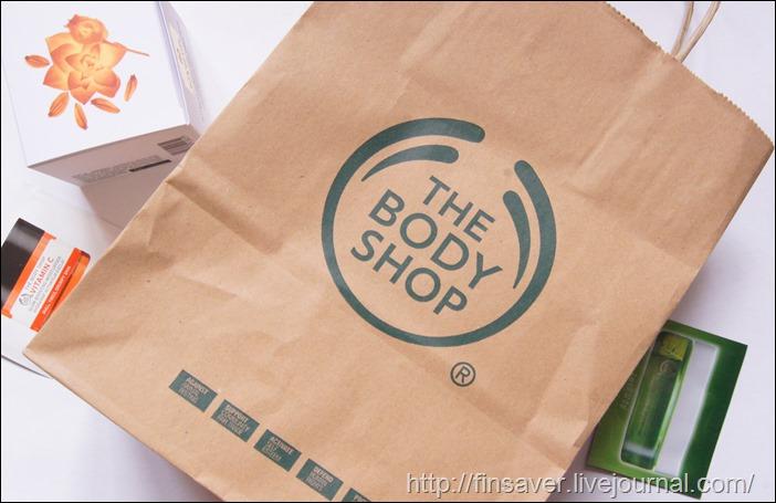 The body shop отзыв опрос новинки oils of life