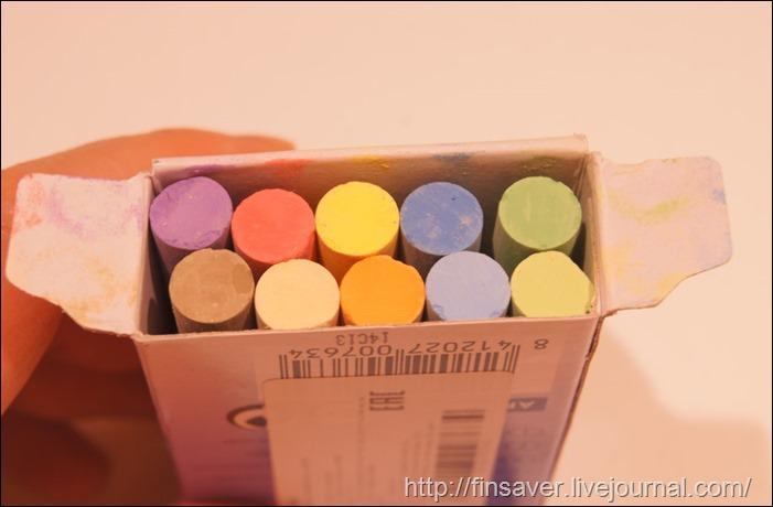 Мел цветной 10 штук, в коробке classcolor jovi детское творчество грифельная стена где купить отзыв фото доска чем занять ребенка
