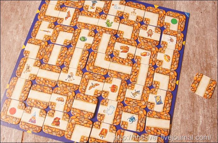 Ravensburger Настольная игра Сумасшедший Лабиринт детская младший школьный старший дошкольный возраст развитие логика обучение скидка заказ ozon отличный подарок на день рождения