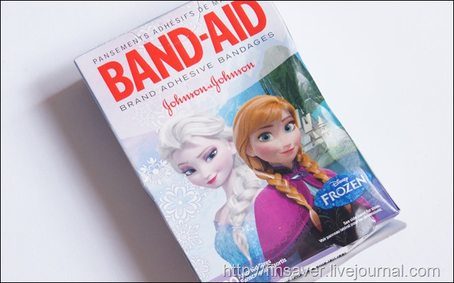 Band Aid, Brand Adhesive Bandages, Disney Frozen, 20 Assorted Sizes �������� ������� � ������� ������������ ������ �������� ����� iherb.com ������ ����� �� ������ � 10$ ���������� ��� ������� ����� ����� ������   ��������� ���� ��������