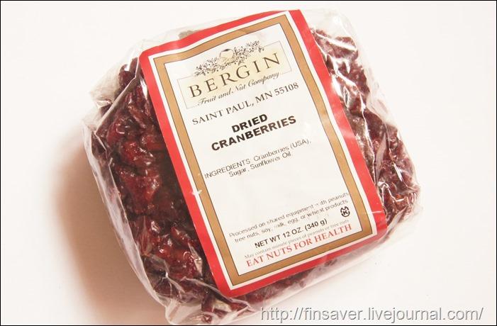 Bergin Fruit and Nut Company, Dried Cranberries, 12 oz (340 g) клюква кошерная вяленая вкусная сушеная органическая дешево дешево органика шруки iherb.com отзывы купон на скидку в 10$ инструкция как сделать заказ акции скидки   косметика БАДы витамины