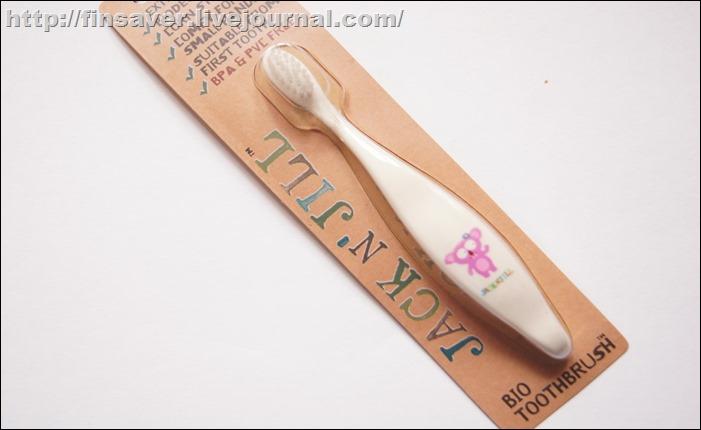 Jack n' Jill, Bio Toothbrush, Koala, 1 Toothbrush щетка детская качественная мягкая щетина дешево органика шруки iherb.com отзывы купон на скидку в 10$ инструкция как сделать заказ акции скидки   косметика БАДы витамины