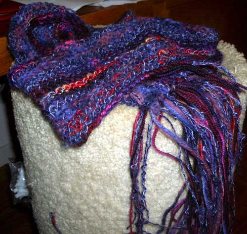 scarf on condo