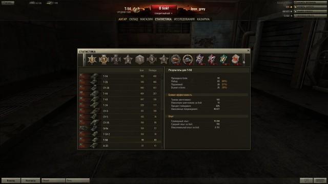т50 качался с премом 50/50 остальные танки играли без према 95% боев