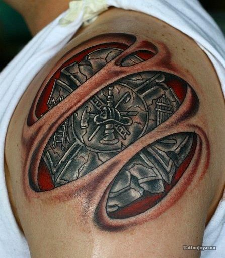 фото тату пожарных 29.03.2019 №144 - fireman tattoo - tatufoto.com ... | 512x447