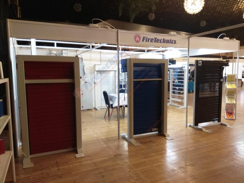 Приглашаем всех желающих посетить наш выставочный стенд FireTechnics №56!