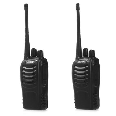 2pcs BAOFENG BF-888S Walkie Talkie with Scrambling Function дешовые баофенги