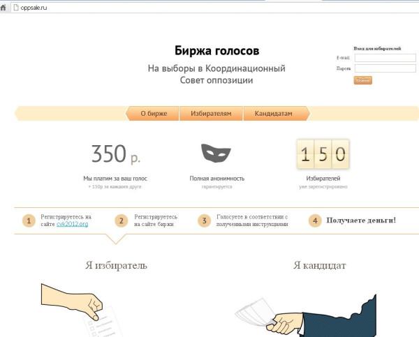 сайт голосав КС