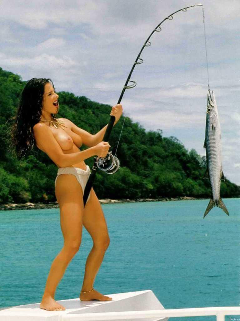 Секс на рыбалке русская 12 фотография