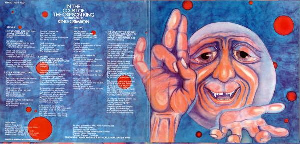 В этот день 50 лет назад вышел альбом King Crimson In the Court of the Crimson