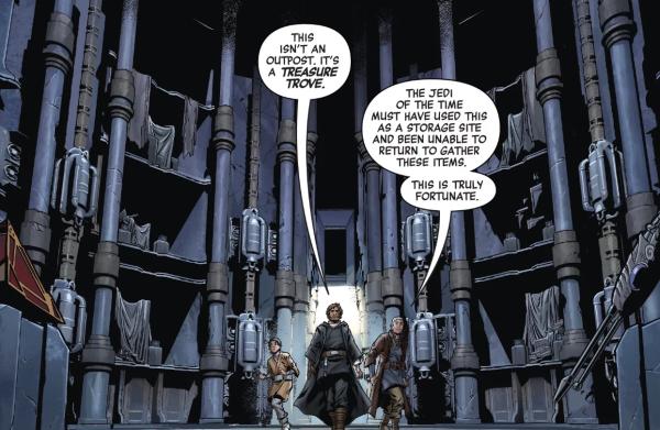 Комикс The Rise of Kylo Ren: продолжение