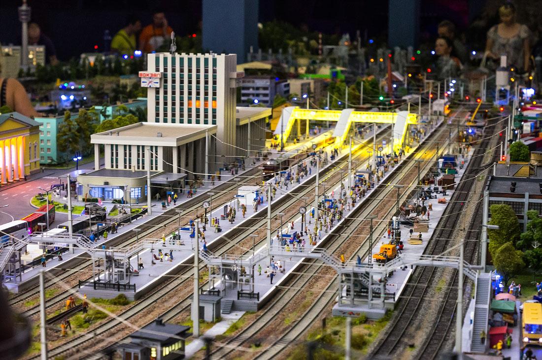 Макеты вокзалов своими руками фото 577
