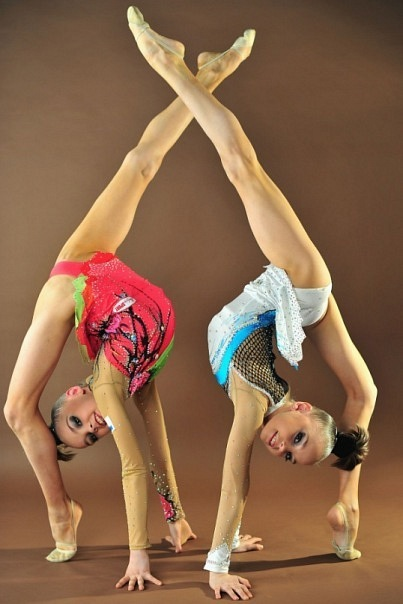 фото худые гимнастки