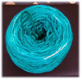 Aqua yarn