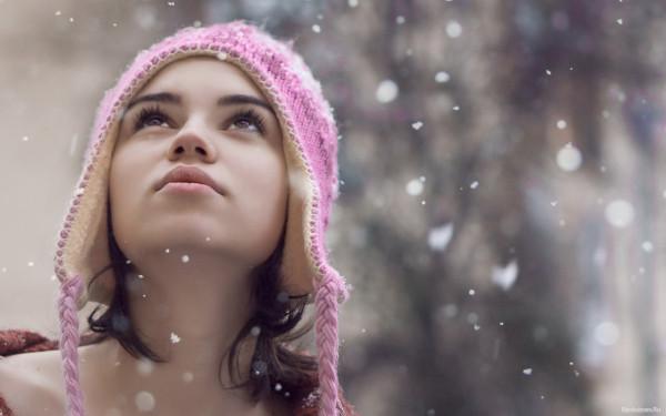 морозная красота брюнеток картинки и фото