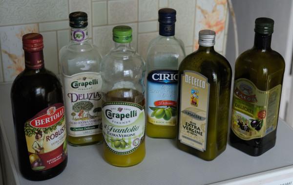 2013 09 26 Olive Oils