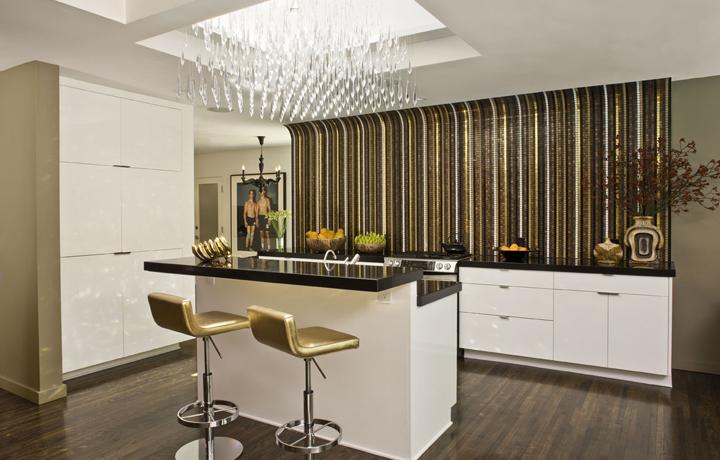 Кухня без верхних навесных шкафов дизайн идеи
