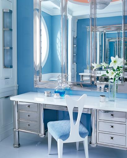 Anthony Baratta blue bath