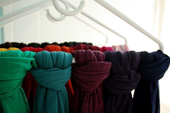 scarves-on-a-hanger