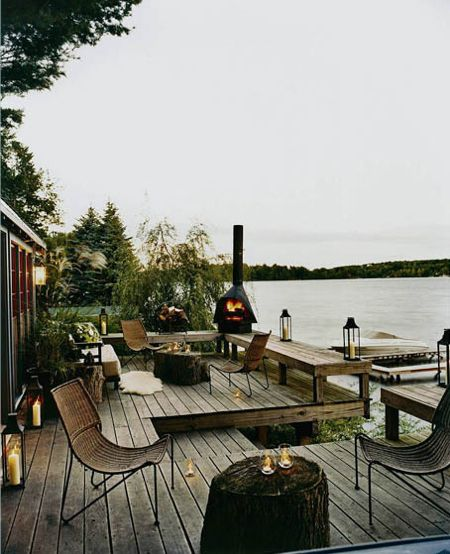 30. thom filicia lake house